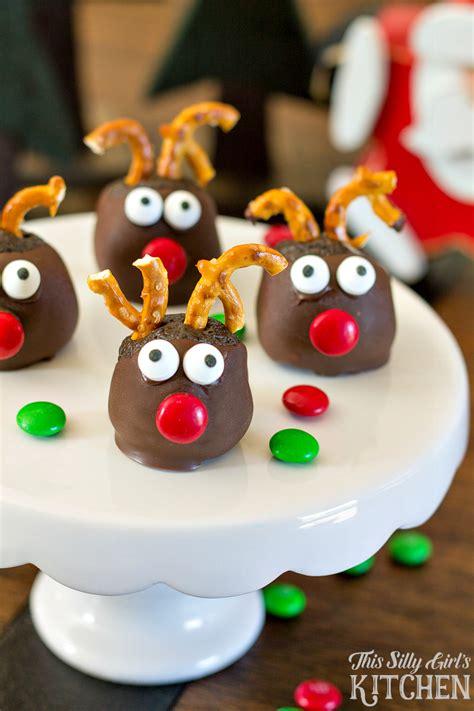 rudolph cookie balls aol food