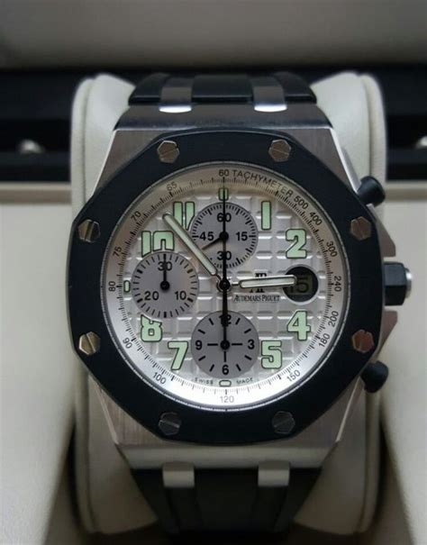 instant rubber st singapore sold audemars piguet royal oak rubber clad pre owned
