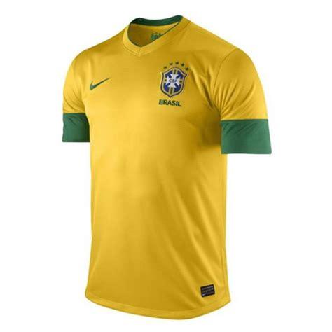 Jersey Brasil Home nike brazil brasil official 2013 home soccer jersey brand new yellow green ebay
