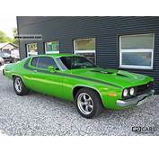 1973 Plymouth Roadrunner 66 400cui Big Block V8  Car