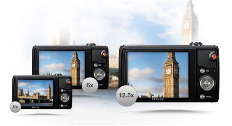 Kamera Olympus 5x Wide olympus stylus vr 370 digital compact black 3 co uk photo