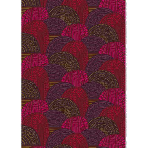 marimekko upholstery marimekko vuorilaakso plum red fabric marimekko fabric