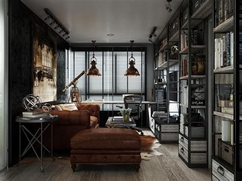 industrial apartments dark color for small apartment interior design with
