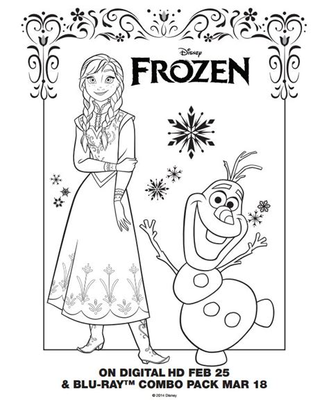 Frozen Coloring Pages Printables Pinterest   frozen coloring page sheets elsa and olaf cakes and