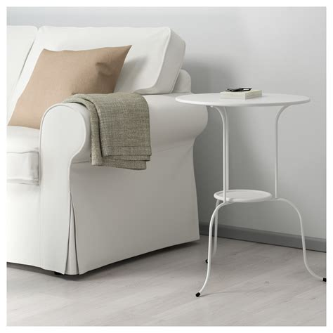 ikea white side table lindved side table white 50x68 cm ikea
