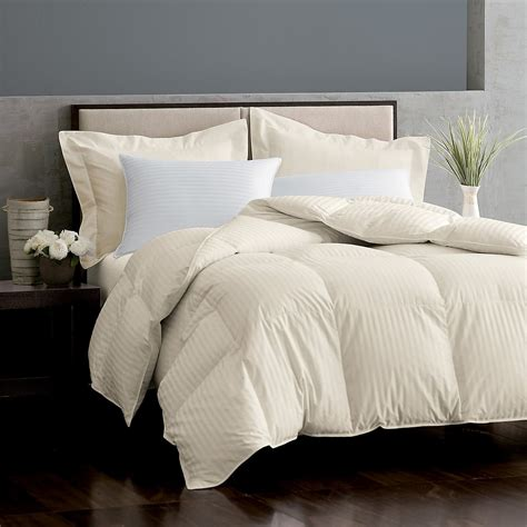 goose down comforter legends 174 damask baffled white goose down comforter the