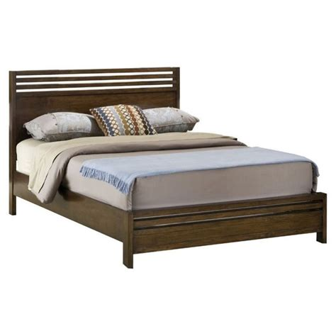 truffle bed modus uptown platform bed in truffle 6m35fx