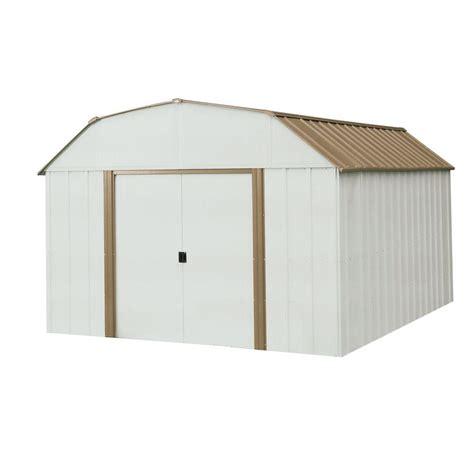 arrow dakota  ft   ft steel shed dk  home
