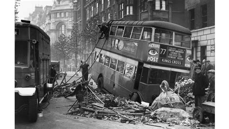 london blitz world war pictures