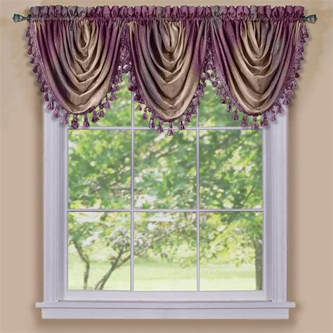 waterfall curtain pattern waterfall valance sewing pattern affordable with