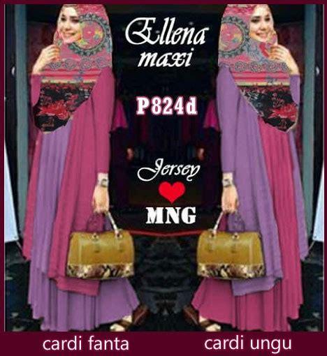 Gres Gamis Syari Denima Purple Baju Muslim Modis gamis modern ellena pink ungu p824d xl model busana muslim