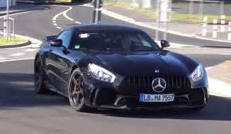 black mercedes amg gt r does nurburgring passes