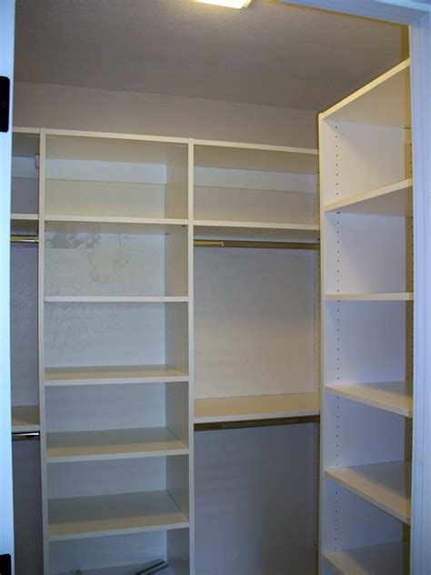 White Closet Shelving Systems by Lovely Shelving Ideas For Bedroom Closets Selection