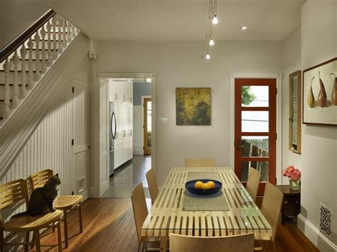 row house interior design ideas fairmount row home transitional dining room