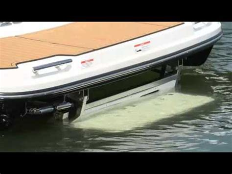 formula boats swim platform submersible swim platform video2 youtube