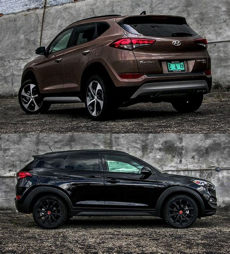 hyundai tucson night 2017 hyundai tucson limited and night a tale of two