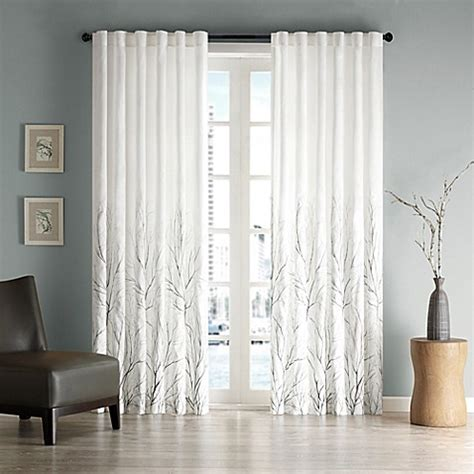 white back tab curtain panels buy madison park andora 108 inch rod pocket back tab lined