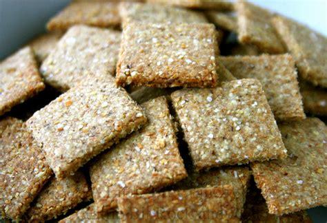 whole grains crackers whole grain crackers recipe