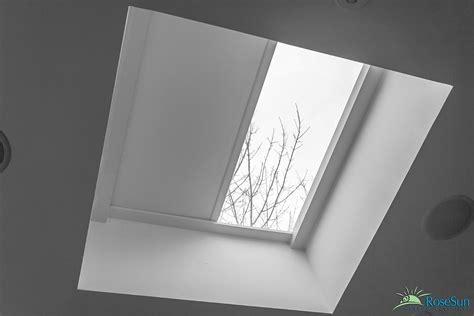 Skylight Shades Motorized Skylight Blinds Image Galleryrose Sun Window