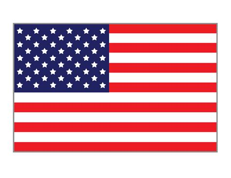 template of the american flag american flag printables gift of curiosity