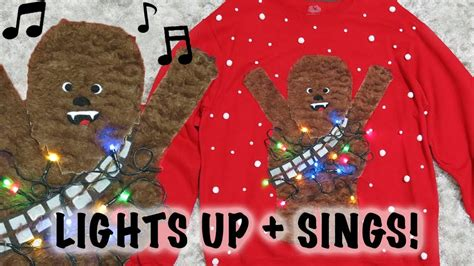 Sweaters That Light Up And Sing