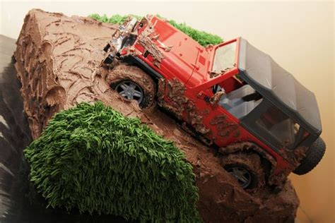 happy birthday jeep cake oh my gosh yes jeep pinterest