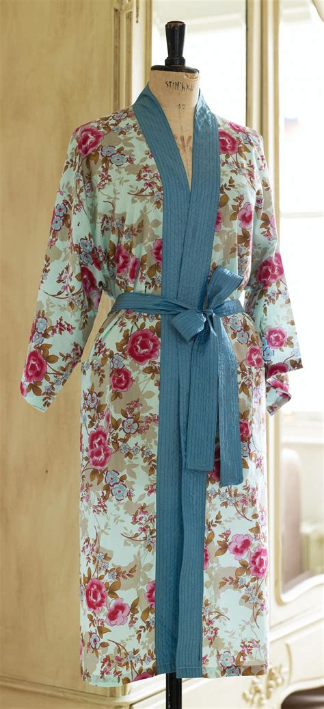 sewing pattern kimono dressing gown floral oriental kimono robe free sewing patterns sew