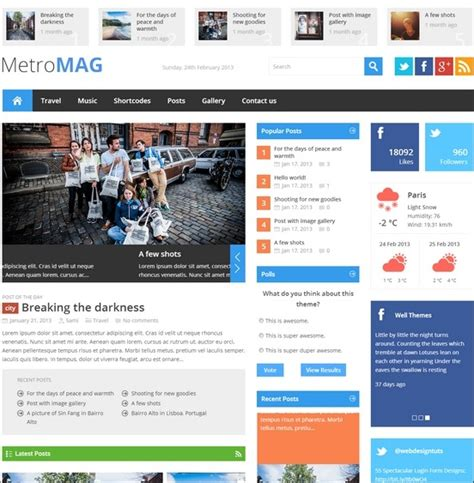 news portal responsive wordpress theme 47781 wordpress haber ve portal temaları aorhan blog