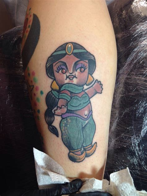 princess jasmine tattoo disney tattoos the official for things ink