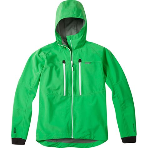 green cycling jacket zenith men s hooded softshell jacket fern green small