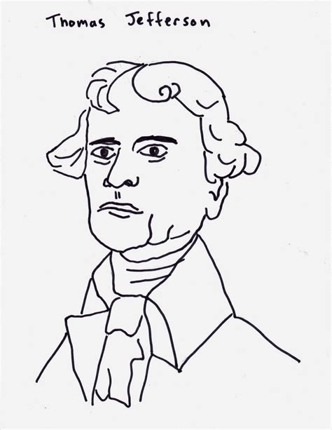 thomas jefferson coloring pages kids coloring europe