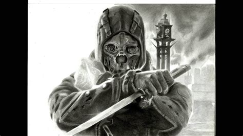 Dishonored Drawing how to draw corvo attano from dishonored
