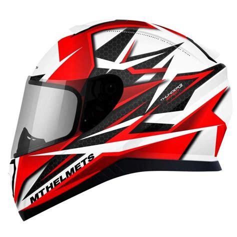 helmet design white mt helmets thunder 3 sv effect buy and offers on motardinn