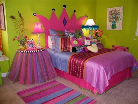 pink and purple little girl rooms