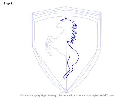 ferrari logo drawing ferrari logo sketch www pixshark com images galleries