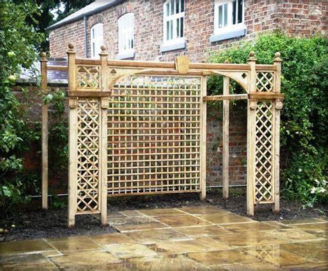 Garden Trellis Company Photo Of Garden With Trellis