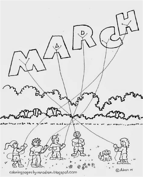 coloring pages march coloring sheets free coloring sheet