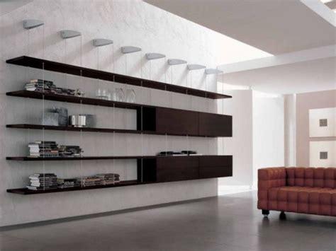 librero  las modernas salas de estar interiores