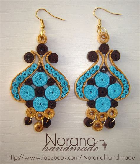Handmade Earring Patterns - quilled earrings turkish tulip by norano handmade on