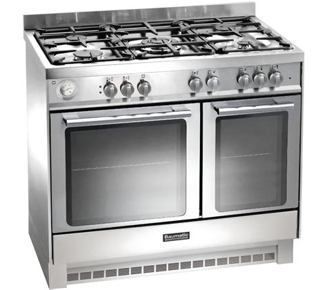 Oven Gas 1 Juta buy baumatic bcg925ss gas range cooker stainless steel
