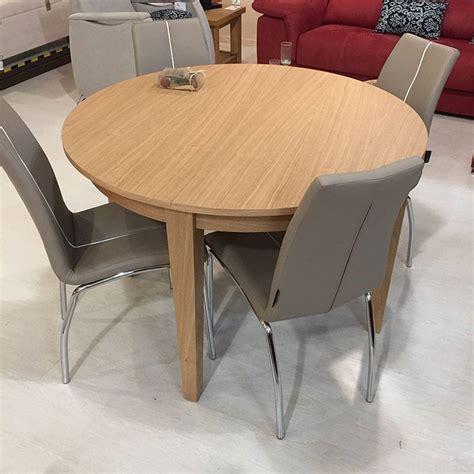 mesa nordica extensible mesa extensible n 243 rdica madera de roble 120d 165d