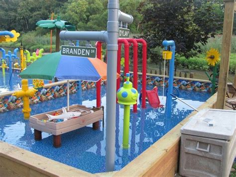 backyard sprinkler park backyard water park for the kids backyard water ideas