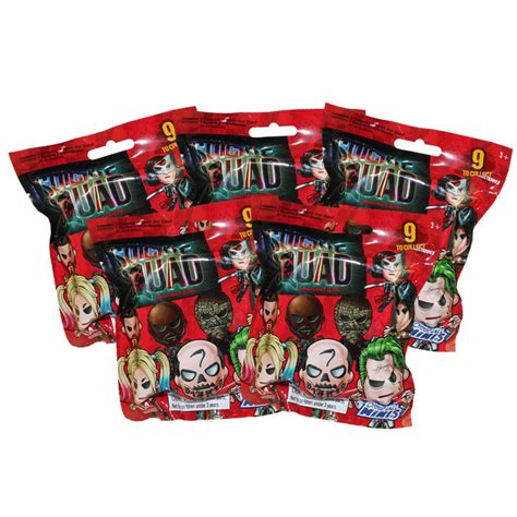 Minis Blind Pack squad collectible mini figures blind packs 5 pack lot bbtoystore toys