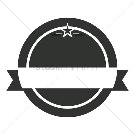 Badge Design Template Vector Image 1973580 Stockunlimited Badge Design Template