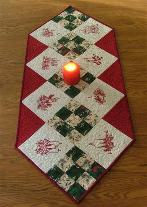 Patchwork Table Runners Free Patterns - candle table runner advanced embroidery designs