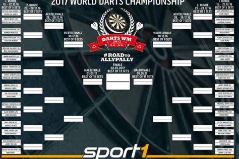 halbfinale wann pdc darts wm startzeiten der weltmeisterschaft