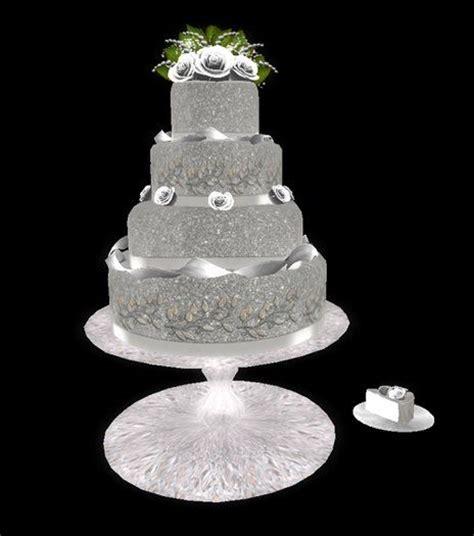 Hochzeitstorte Glitzer by Silver Glitter Wedding Cake Glitter Wedding
