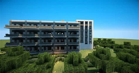 pics for gt minecraft apartment building blueprint