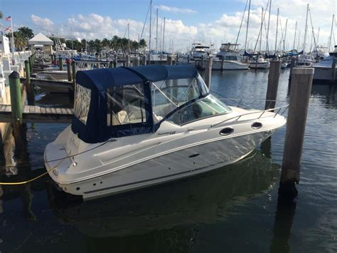 sea ray boats for sale fort lauderdale sea ray 240 sundancer boats for sale in fort lauderdale