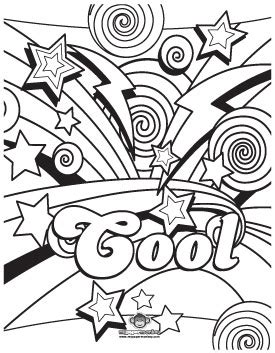 8 best images of free printable cool coloring pages for